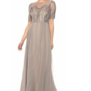 Adrianna Papell NEW Gray Womens DRESES SIZE 4